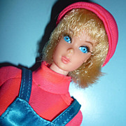 Mattel- Busy Talking Barbie -All Original -Still Talks~ 1972~ #1195