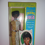 SALE Mattel Talking Julia Doll-All Original in Box -Unplayed with Example