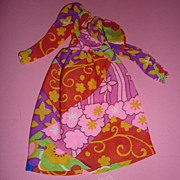 SOLD Mattel - Francie Dress ~Wild Flowers~ #3456  1971-72 and 1974 HTF!