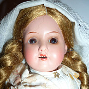 "SALE 10"" -390, Armand Marseille Doll ~Original Dutch Girl Costume-"