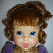 "SALE 1968-69 Mattel Small Talk Cinderella Doll - 10"" darling"