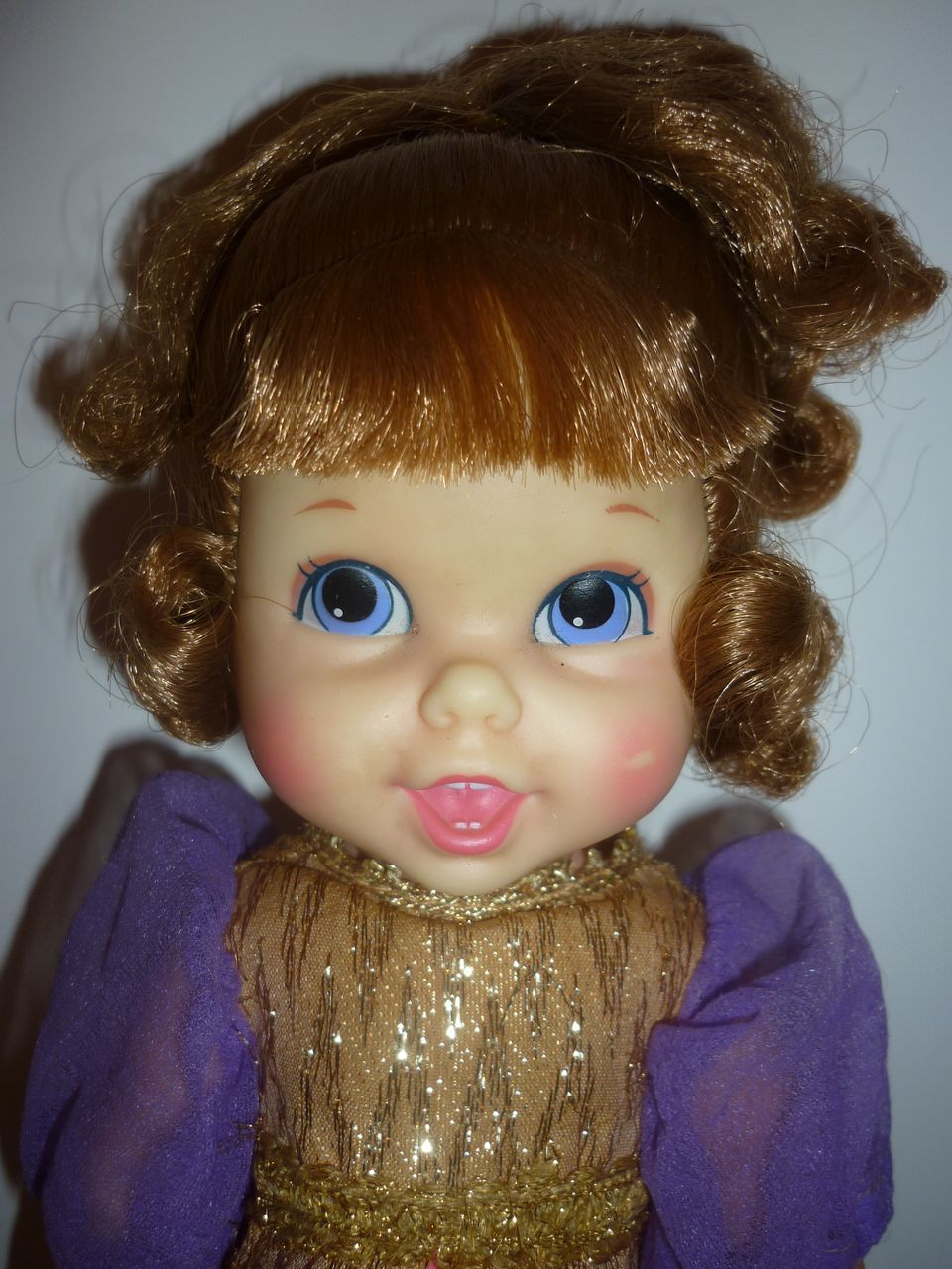 "1968-69 Mattel Small Talk Cinderella Doll - 10"" darling"