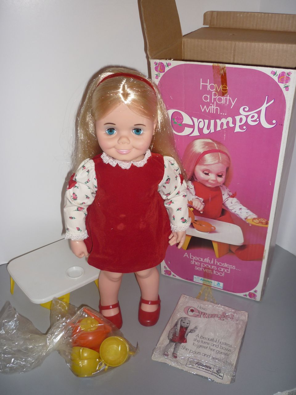 1971 Kenner Crumpet Doll-All Original Clothing, Box etc. Canadian Issue