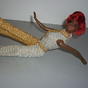SALE Mattel Talking Julia Doll with Original Gold and Silver Jumpsuit