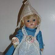 1950's Vogue Ginny Dutch Girl, Holland Girl in original outfit +wrist tag