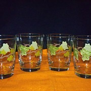 REDUCED Franciscan Ivy Glasses- set of 4