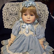"Porcelain ""Polly""  Doll by Thelma Resch"
