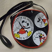 REDUCED Vintage Mickey Mouse Child's Purse