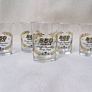 REDUCED Vintage German Shot Glasses - 5