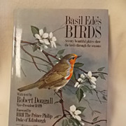 REDUCED 1980 Basil Ede's Birds -Book