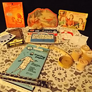 Vintage Collection of Sewing Items