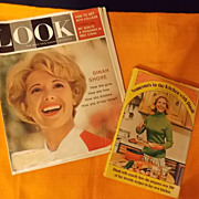 Vintage Dinah Shore Book and Magazine, 1960 and 1971