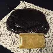 Vintage Whiting and Davis  Mesh Purses -2