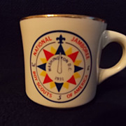Vintage National Jamboree 1931 Boy Scout Mug