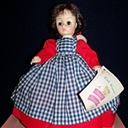 SALE Vintage Madame Alexander Doll- Jo, from Little Women's series