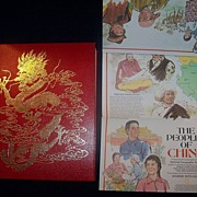 REDUCED Vintage Book, Journey into China 1982