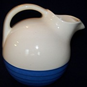 REDUCED Vintage Universal Pitcher ,Two- Toned