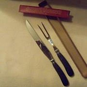 Vintage Cattaraugus Carving Set