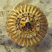 REDUCED Vintage Eastern Star Brooch