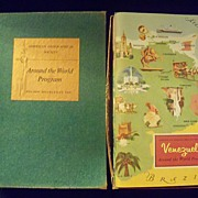 REDUCED Vintage American Geographical Society Around the World Books