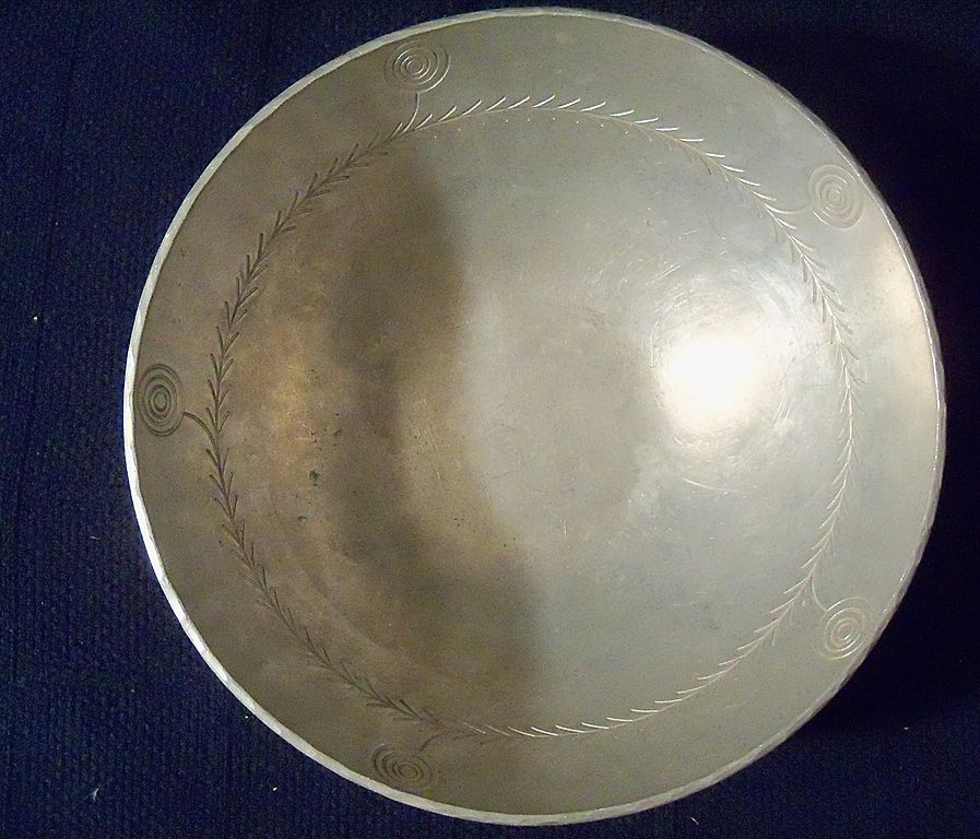 Vintage Palmer Smith Aluminum Bowl