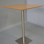 SOLD Danish Modern Tall Apartment Kitchen Cafe Table Zeta Mobler