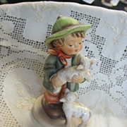 Vintage Hummel Goebel #64 Shepherd's boy figurine tmk6