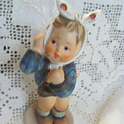Hummel Goebel tmk4 Toothache 217 figurine vintage