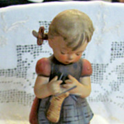 Hummel Goebel 255 A stitch in Time figurine TMK5 large