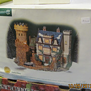 Large Dept department 56 Dickens village Sheffield manor Building