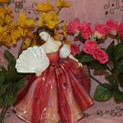 Royal Doulton First Waltz lady woman Figurine HN 2862