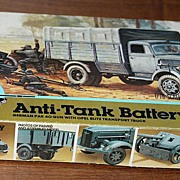 MPC anti tank battery Germany pak 40 gun model kit 1/76 scale