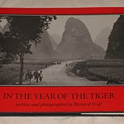 REDUCED In The Year of the Tiger Written and Photographed by Bernard Wolf