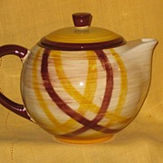 Vernonware Tea Pot Organdie Pattern