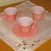 Hazel Atlas 20th Century Tea Set
