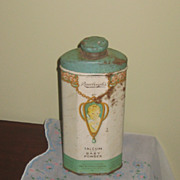 Tin Rawleigh's Talcum and Baby Powder Vintage 20's