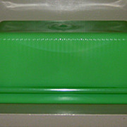 McKee Jadeite One Pound Butter Dish