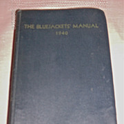 The Bluejackets Manual 1940
