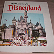 Walt Disney's Disneyland Souvenir Book From 1969