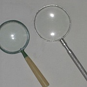 REDUCED Set of Vintage Magnifying Glasses