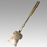 18th Century Keyhole Iron Spatula Utensil