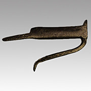 19th Century Primitive Iron Boot Scraper