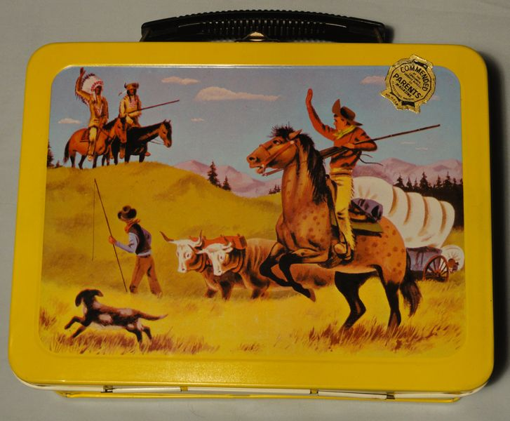 Vintage Rare Pathfinder Lunch Box 1959