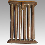 Primitive 12 Tube Candle Mold