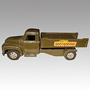Vintage 1954-57 Buddy L Army Transport Truck