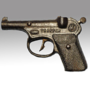 Kilgore Trapper Toy Cast Iron Cap Gun