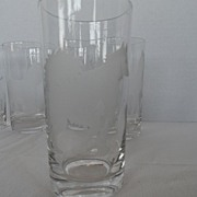 SALE Etched Tumblers - Dogs -