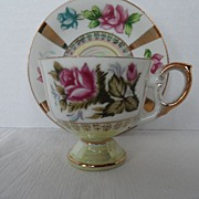 SALE Tea Cup and Saucer