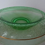 SALE Cambridge Rolled Rim Console Bowl - Green