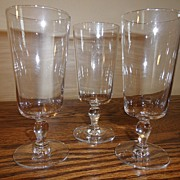 SALE Vintage - Glass - Water (3)